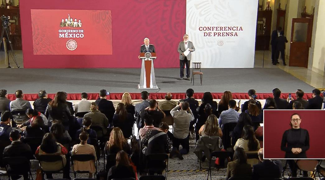 FOTO Transmisión en vivo: Conferencia de prensa AMLO 14 de mayo 2019 (YouTube)