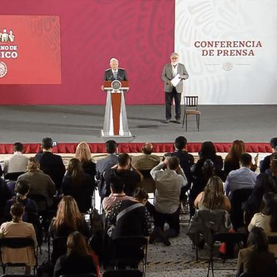 Transmisión en vivo: Conferencia de prensa AMLO 14 de mayo 2019