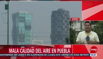 Foto: Contaminación en Puebla persiste; el Popocatépetl emite cenizas