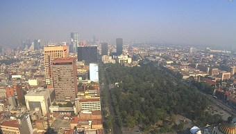 Foto: Vista actual de la Ciudad de México desde el mirador de la Torre Latino, 12 mayo 2019