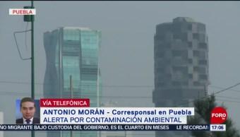 FOTO: Contaminantes van a la baja en Puebla