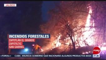 FOTO: Controlan dos incendios forestales en Jalisco, 12 MAYO 2019