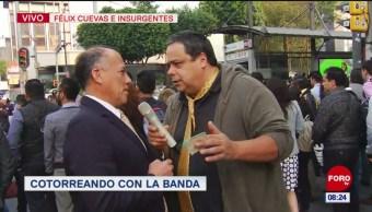 #CotorreandoconlaBanda: 'El Repor' suelto en Insurgentes