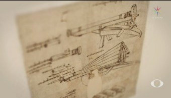 Foto: Crean versión digital de apuntes de Leonardo Da Vinci