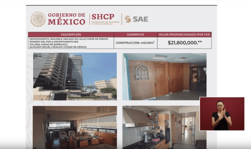 Foto: Departamento de lujo será subastado, 21 de mayo de 2019, Ciudad de México