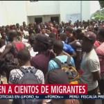 Foto: Descartan casos de viruela y sarampión en migrantes en Tamaulipas
