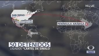 FOTO. Detenidos del cartel de Sinaloa, surtían a la península arábiga