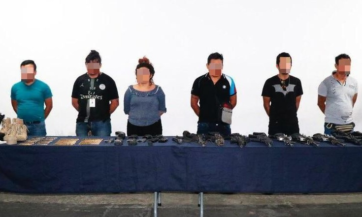 Foto: Detienen a 6 personas vinculadas con la agresión a marinos en Xicotepec, Puebla, 156 mayo 2019