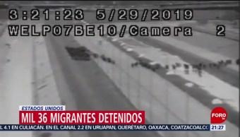 Foto: Detienen 1036 Migrantes Estados Unidos 30 Mayo 2019