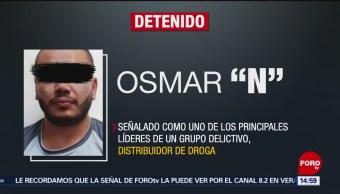 FOTO: Detienen a presunto líder de la Unión Tepito en la CDMX, 18 MAYO 2019