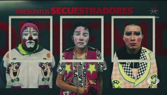Foto: Detienen Tres Payasos Secuestradores Neza Edomex 23 Mayo 2019