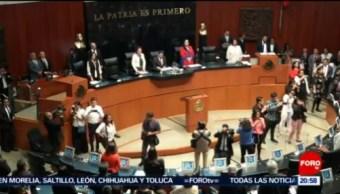 Foto: Discuten Diputados Reforma Educativa Senado 8 de Mayo 2019