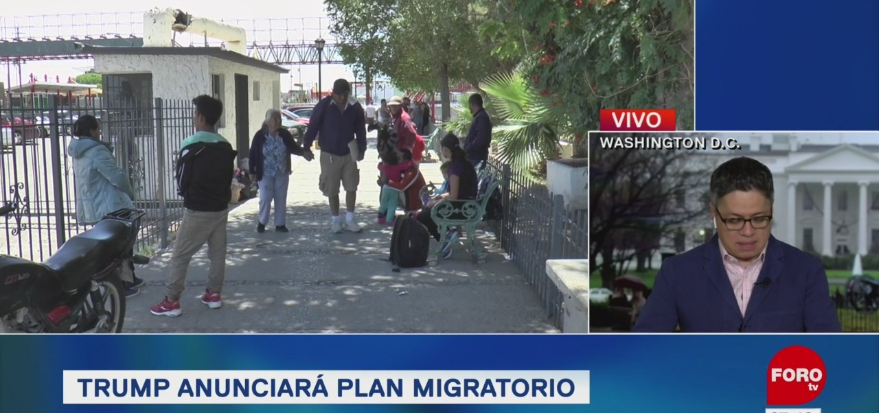 Donald Trump anunciará plan migratorio