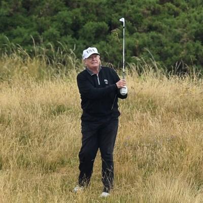 Hackers alteran puntuaciones de golf de Trump