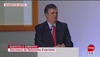 Ebrard: Erradicar la corrupción, meta para lograr desarrollo de México