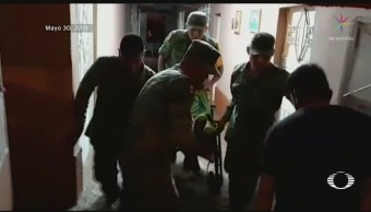 Foto: Ejército Plan Dn-III Tromba Matehuala 31 Mayo 2019