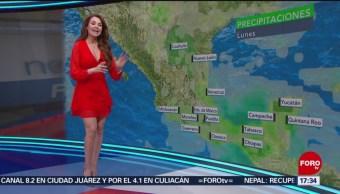 FOTO: El clima, con Mayte Carranco, 27 MAYO 2019