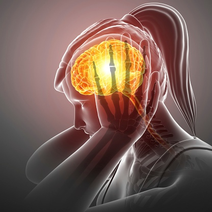 El dolor de cabeza es un síntoma del estrés, aunque puede ser señal de algo mucho más grave si existe fiebre, sudoración o aparece repentinamente (GettyImages)