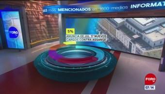 El impacto en las portadas de los principales diarios del 24 de mayo del 2019