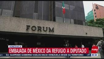 Foto: Embajada Mexicana Caracas Refugio Diputado Opositor 15 de Mayo 2019