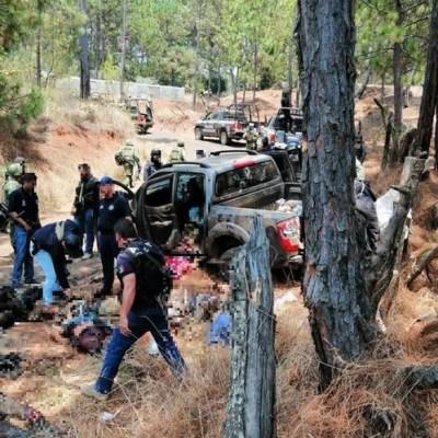 Fue emboscada y no enfrentamiento en Uruapan, aclara Fiscalía de Michoacán