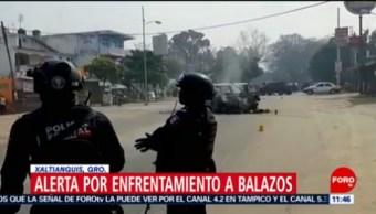 Enfrentamiento en Xaltianguis, Guerrero, deja dos muertos
