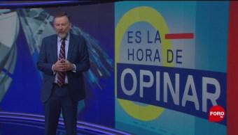 Foto: Hora Opinar Leo Zuckermann 6 de Mayo 2019