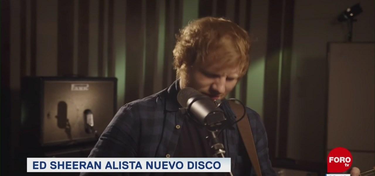 #EspectáculosenExpreso: Ed Sheeran alista nuevo disco