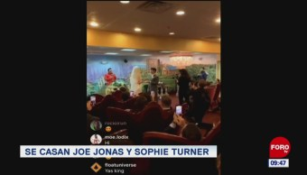 #EspectáculosenExpreso: Se casan Joe Jonas y Sophie Turne