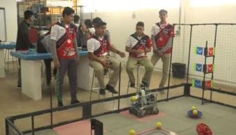 FOTO Estudiantes de Chihuahua ganan campeonato de robótica en EU (Noticieros Televisa)