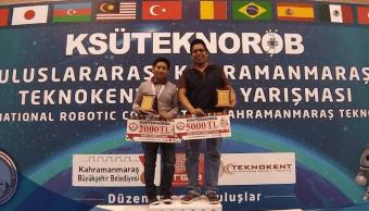Foto Estudiantes veracruzanos ganan torneo de robótica en Turquía 13 mayo 2019