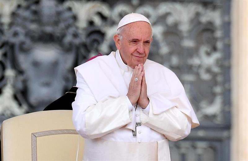 Foto Papa Francisco recomienda a AMLO hacer pactos políticos 28 mayo 2019