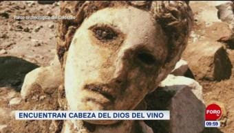 Extra, Extra: Encuentran cabeza del Dios del vino
