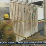 Foto: FGR investiga incendio en estación migratoria de Tapanatepec, Oaxaca