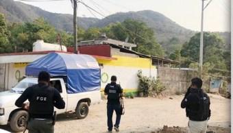 Foto: operativo de seguridad en Guerrero, 17 de mayo 2019. Twitter @FGEGuerrero