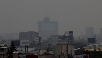 Foto: En la Ciudad de México persisten los altos niveles de contaminación. El 13 de mayo de 2019