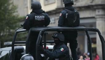 Foto: Agentes de la Policía Federal (PF) circulan por calles de Ciudad de México