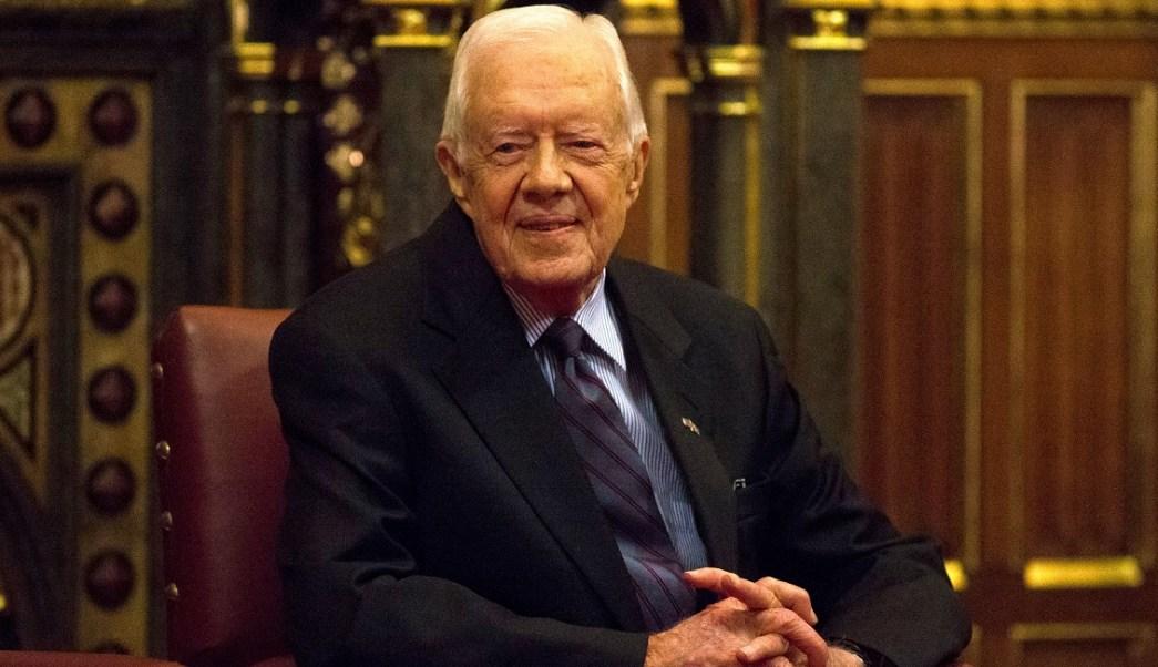Foto: Jimmy Carter, presidente 39.º de Estados Unidos. El 3 de febrero de 2016