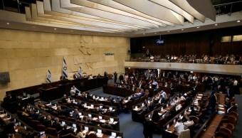 Foto: Sesión en el Parlamento de Israel en la ciudad de Jerusalén. El 29 de mayo de 2019