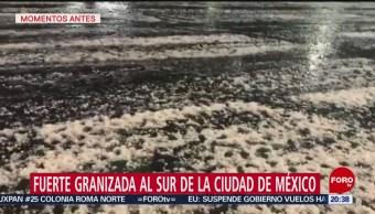 Foto: Granizada Granizo Cdmx 15 de Mayo 2019