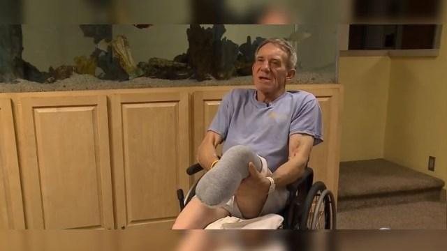Foto: Granjero se amputa pierna para zafarse de máquina agrícola, 15 mayo 2019