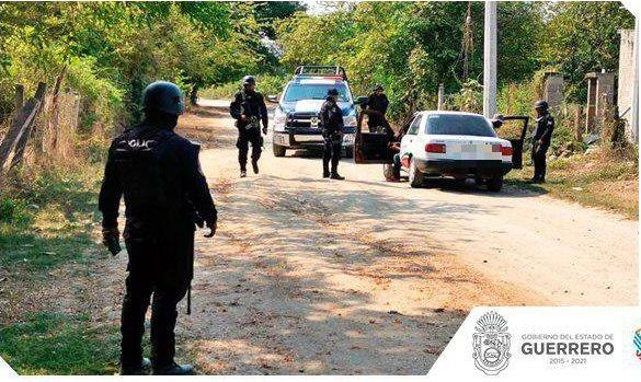 Foto: Operativo de seguridad en Guerrero, 13 de mayo 2019. Twitter @SSPGro