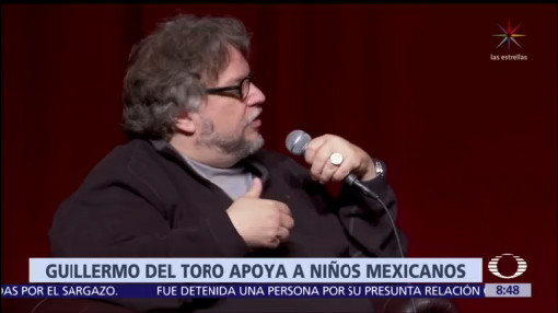 Guillermo del Toro apoya a mexicanos para concurso de matemáticas