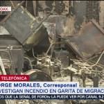 Foto: Detenidos Incendio Estación Migratoria Oaxaca 13 de Mayo 2019