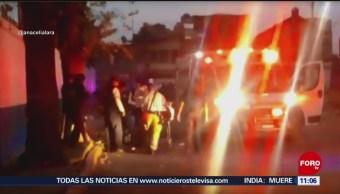 Hieren a joven en inmediaciones del CETIS 104 en Puebla