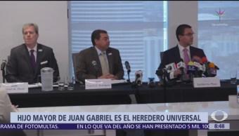 Hijo mayor de Juan Gabriel es oficialmente el heredero universal
