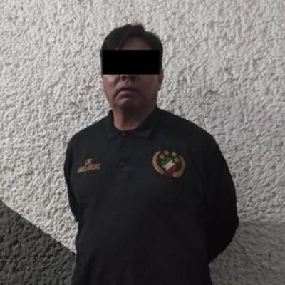 Detienen a 2 personas por abusar de mujer en ambulancia en CDMX