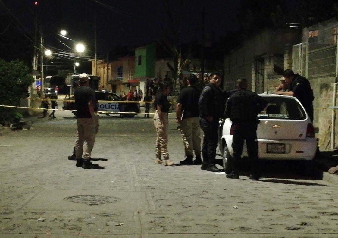 Foto: Dos jóvenes fueron asesinados a tiros en la colonia Loma Linda de Guadalajara, 22 mayo 2019