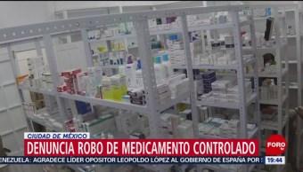 Foto: IMSS Denuncia Robo Medicamento Controlado VIH 2 de Mayo 2019