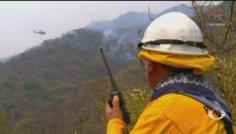 Foto: Incendio Ocuilan Estado De México Edomex 15 de Mayo 2019